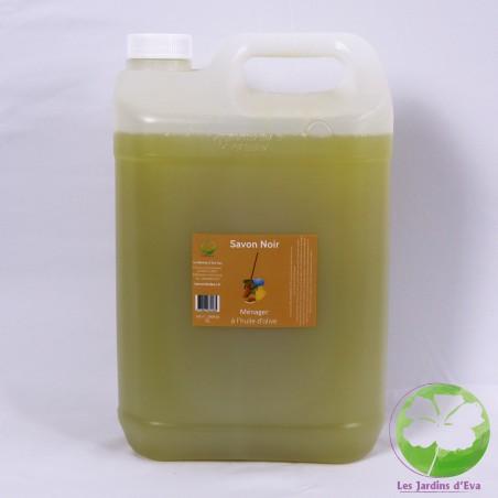 Savon noir ménager à l'huile de lin