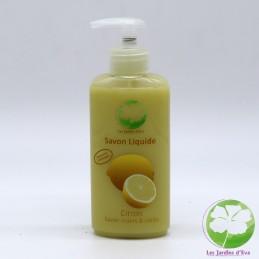 Savon liquide Citron